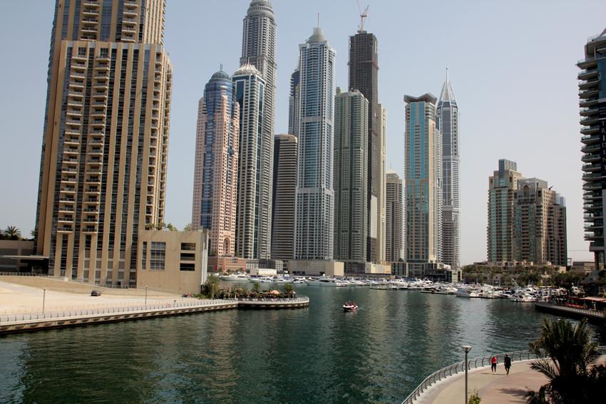 Photography: Dubai UAE - Architecture and the Marina (2/6)