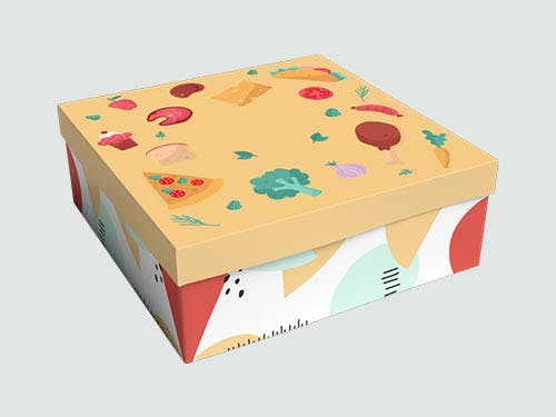 Snack Box Two Pieces