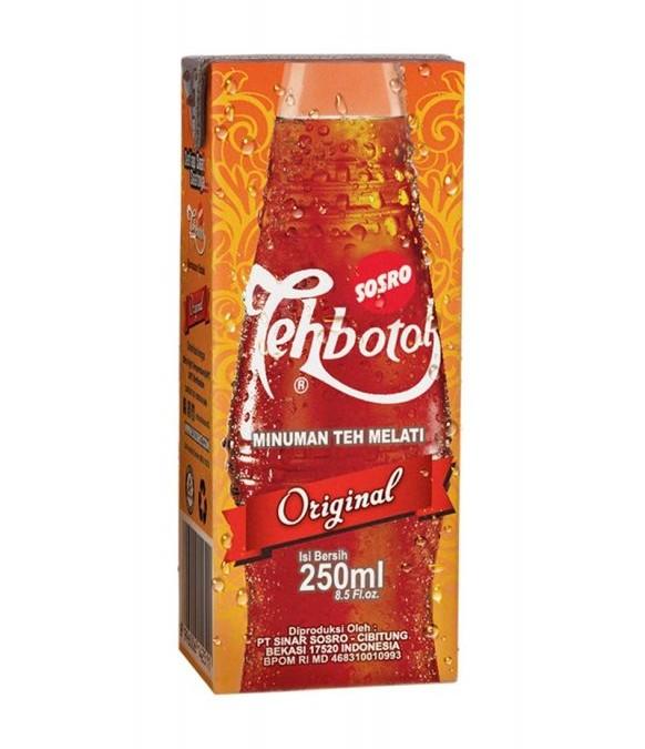 Teh Botol 250 ml @ Rp. 4.000