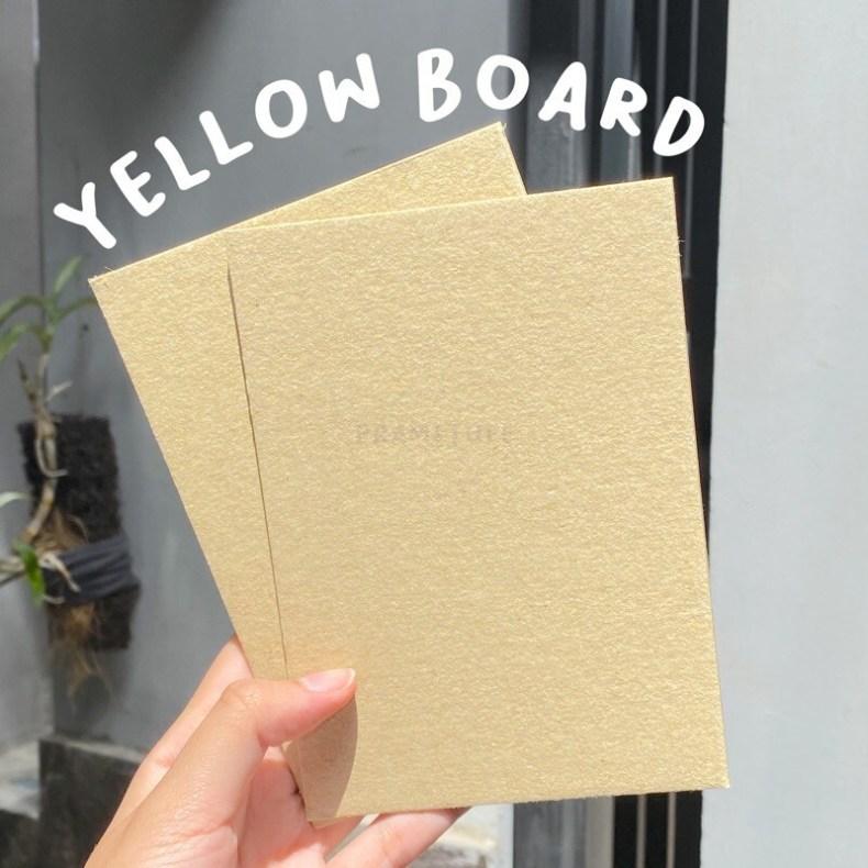 Yellow Board Paper