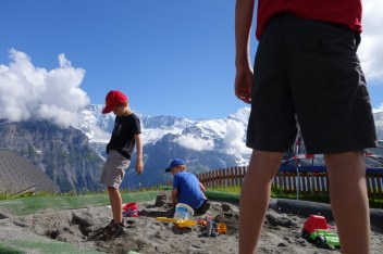 Sandpit at First, 2168m