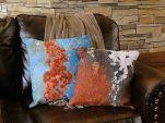 Abstract Rust Pillow Set