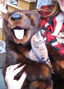 I met a bear in Canada (Epcot)