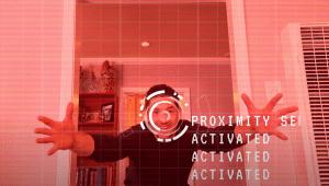 kris approaching screen