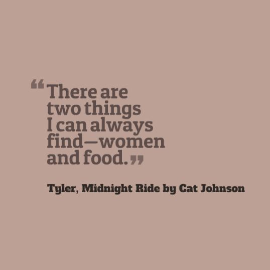 Quote about Food and Women