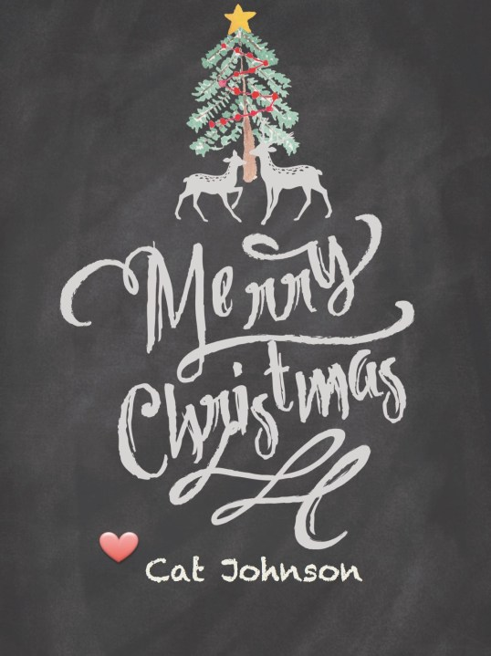 Merry Christmas with Love from Cat Johnson