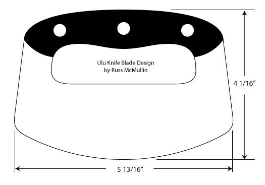 Making an ulu knife from a circular saw blade
