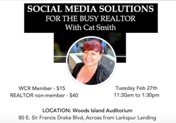 Women's Council of Realtors Marin- Optimizing Social Media to Build Your Business