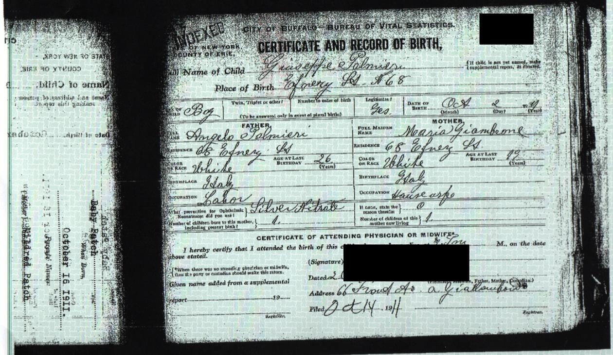 court order  Genealogy and Jure Sanguinis