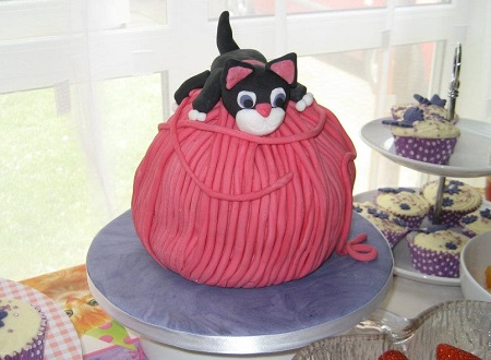 Black Cat Cake Images