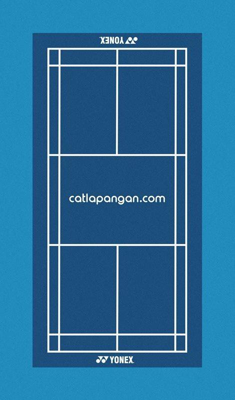 Gambar Lapangan Batminton : gambar, lapangan, batminton, Kontraktor, Lapangan, Bulutangkis, CATLAPANGAN.com