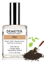 """This one is going to shock your pants off. If you haven't heard of it, Demeter Fragrance is a company that creates SUPER unique smells including: dirt, kitten fur, rum and coke, funeral home and paperback books. And more boring scents like Play-do and pizza (just kidding, they do have """"normal"""" scents, lots of them). And each scent is available in different sizes, accommodating all bank accounts, and comes available as lotions, room scents, body wash, maybe even as soy candles (depending on the scent). I don't think it's so much going to be what scent you chose so much as the fact that you have something from Demeter's. I mean seriously, it's pretty cool, right?"""
