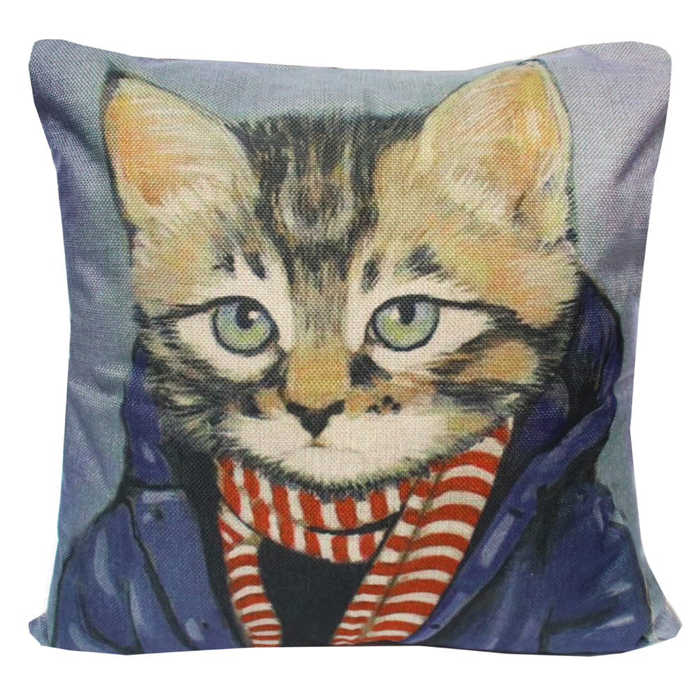 Cushion covers Personality Cats Range  Cat Lovers Emporium