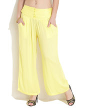 Soch Pep Up Palazzo Pants, yellow, fs