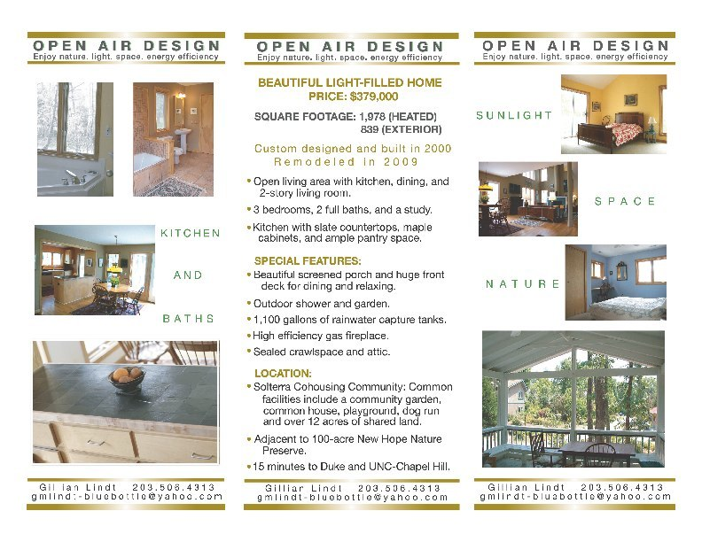 Residential Real Estate Tri-Fold Brochure