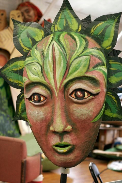 """""""Forest Goddess II"""" Play: The Serpent's Egg, Paperhand Puppet Theater"""