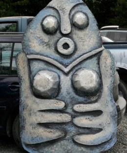"""""""Stone Goddess Figure"""" Play:The Serpent's Egg, Paperhand Puppet Intervention"""