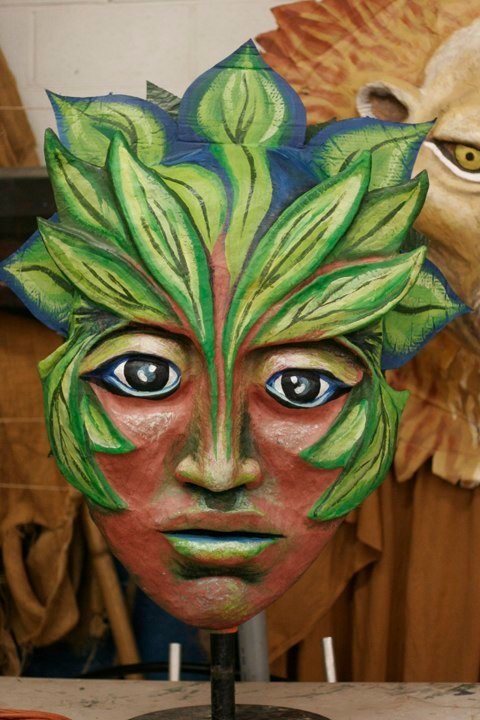 Forest Goddess Head IV