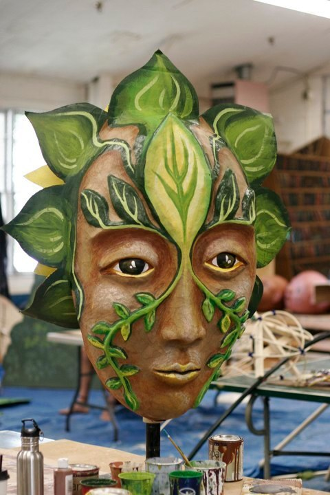 """""""Forest Goddess I"""" Play: The Serpent's Egg, Paperhand Puppet Theater"""