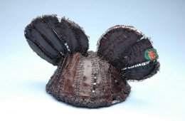 """""""DUD Object #1: Disney, Planet Apes"""" Hand sewn banana peels, armature wire."""