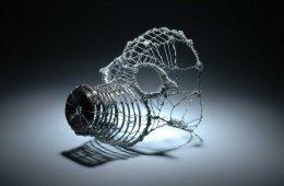 """New At Stiffany's"" Steel wire, aremature wire."