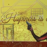 Hapiness Is A Warm Glock (DETAIL)