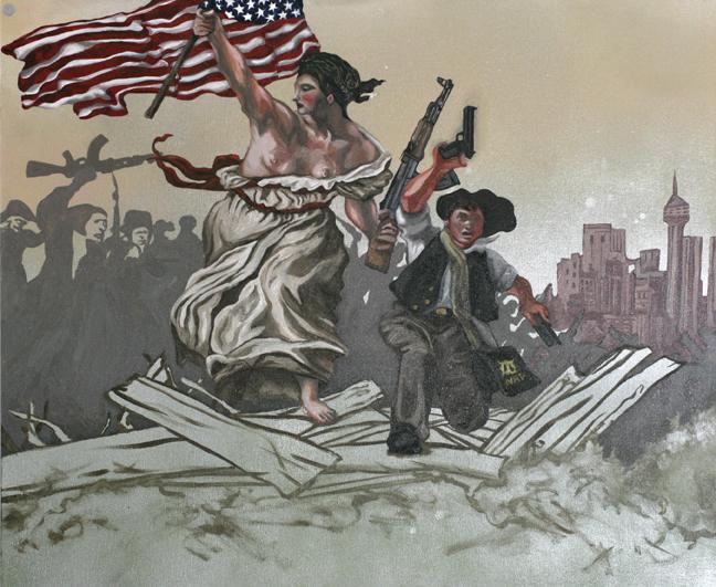 Liberty Leading The People To Glenn Beck's B-B-Q
