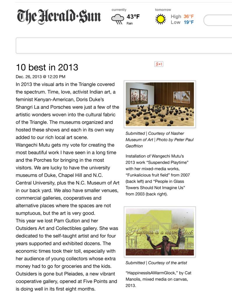 10 best in 2013 | The Herald-Sun