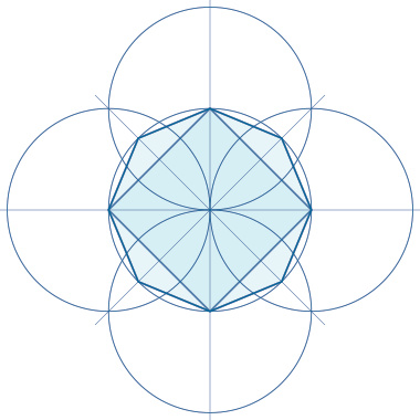 Eight point construction geometry