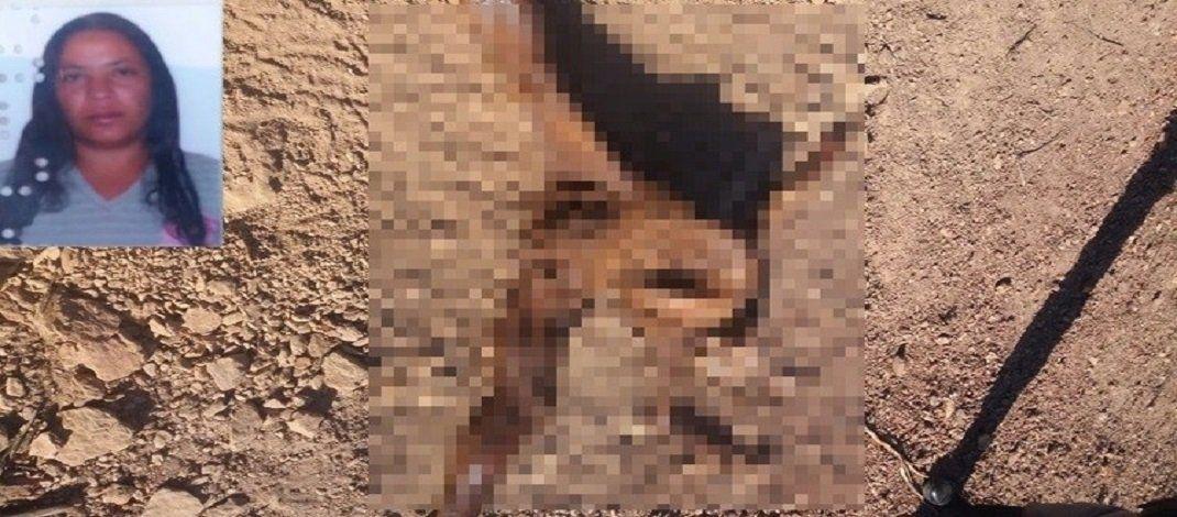 Sertão: Parte do corpo de mulher pode ter sido devorado por cachorros e continua no local após 18 horas