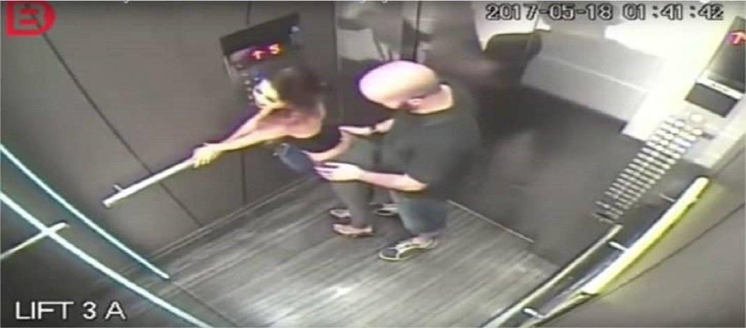 Filmagem de elevador mostra a cruel realidade do antes e depois de um programa, Veja Vídeo