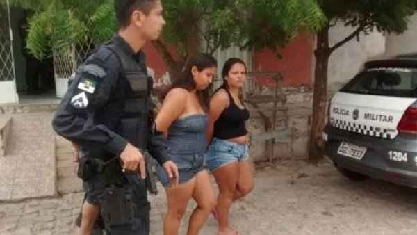 mulher presa no rn