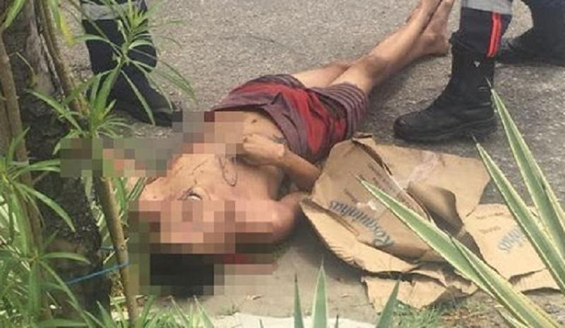 homicidio e registrado na manha deste domingo no sertao do estado