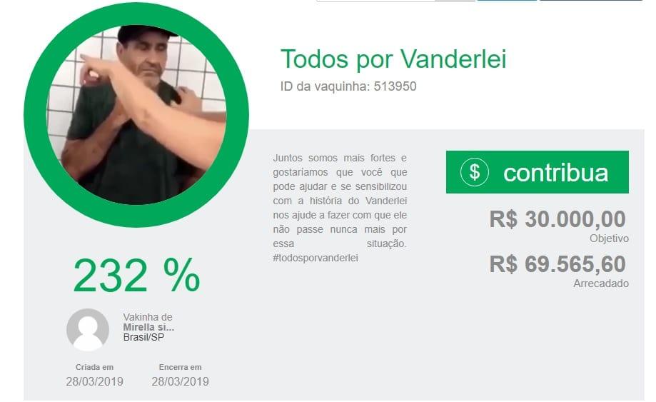 campanha solidaria arrecada quase r 70 mil para ajudar homem agredido por furtar comida