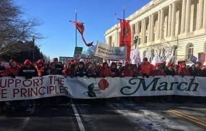 Gran Marcha por la Vida en EE.UU.