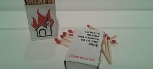 Madrid: una exposición en el museo Reina Sofía incita à quemar las iglesias