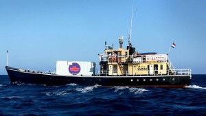 """""""El barco de la muerte"""" llega a las costas Americanas."""