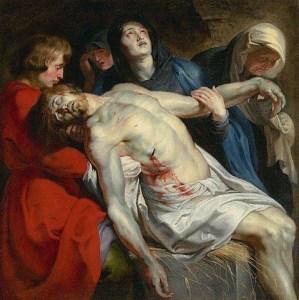 Via crucis en compañía del Sacratísimo Corazón de Jesús.