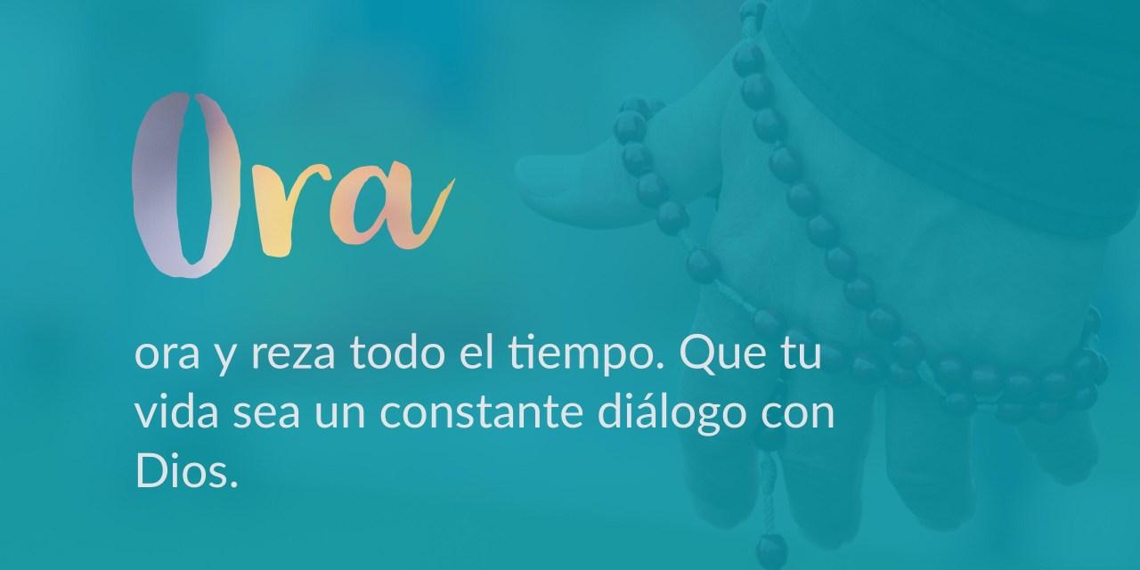 La oración diaria