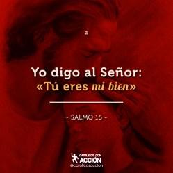 """""""Tú eres mi bien"""" eres mi todo Señor Jesús"""