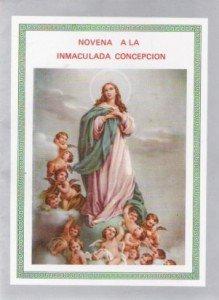 Novena a la Inmaculada Concepcion