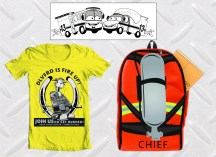Designs created for local fire department.