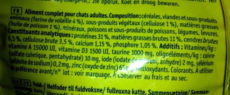 croquettes 4% de viande