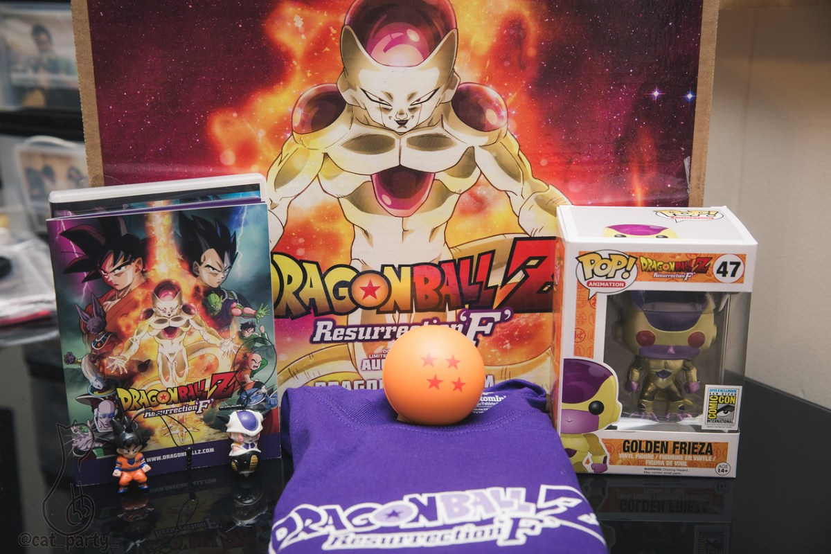 Dragon Ball Z Resurrection F Gift Kit Catpartyhi
