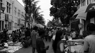 Ramainya Kota Tua Jakarta, menjadi daya tarik tersendiri untuk warga Jakarta