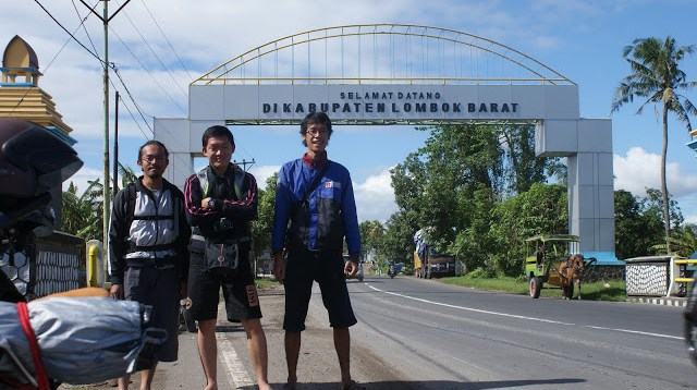 Perbatasan lombok barat, tempat berfoto yang asik.