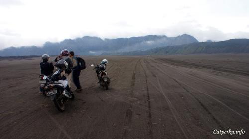 Padang pasir yang berada di ketinggian lebih dari 2000 meter!