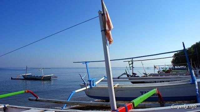 Kalau ingin melihat lumba - lumba di alam liar, coba deh datang ke Lovina. Atau, yang menginginkan suasana libur yang tenang bisa juga kok kesini :)