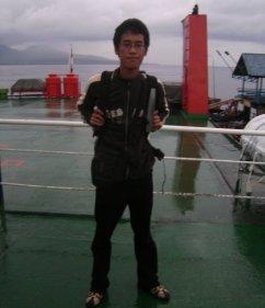 Pencarian Journey Of Love : My First Escape! Di kapal ferry menuju ke Bali tahun 2010