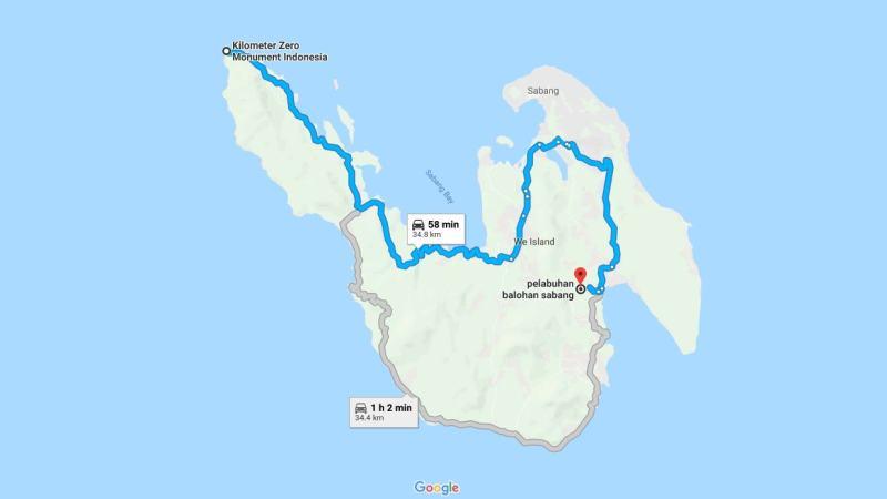 Day 2 - 9 Maret 2019 Nol Kilometer Sabang - Meulaboh ( via Lho-Nga, Gunung Geurute, Lamno) - Sabang